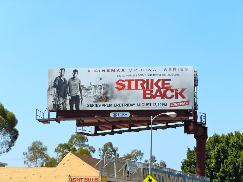 Strike Back season 1 billboard