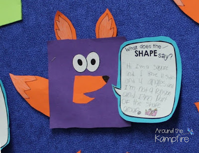 What does the SHAPE say? math craft