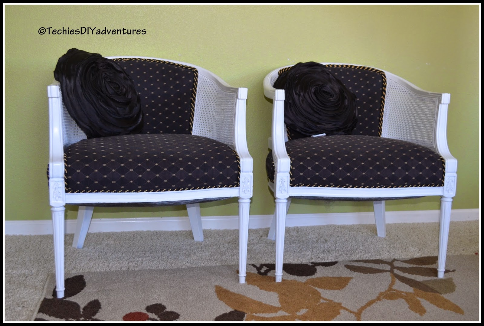 Cane Chair Makeover Part 2