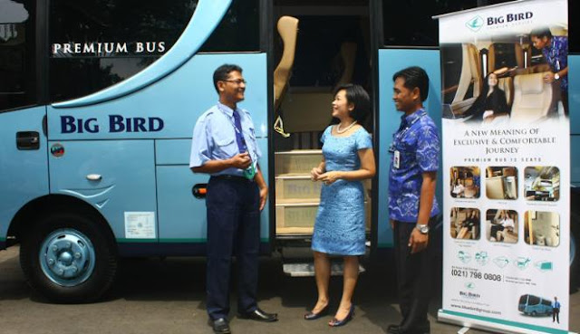 Blue Bird Group meluncurkan Big Bird Premium Bus