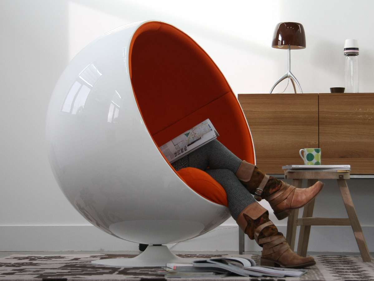ADELTAS Ball Chair from Eero Aarnio