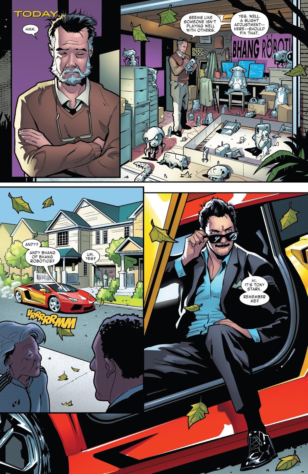 Read online Tony Stark: Iron Man comic -  Issue #1 - 5