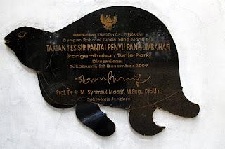 Taman Pesisir Penyu Pangumban ujung genteng