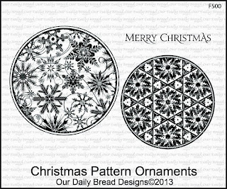 Stamps - Our Daily Bread Designs Christmas Pattern Ornaments