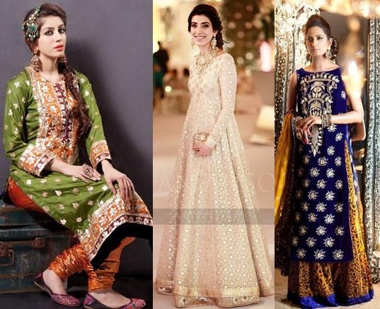 ece24ac134e5 Women Fashion  Fancy Dresses of Latest Fashion 2016