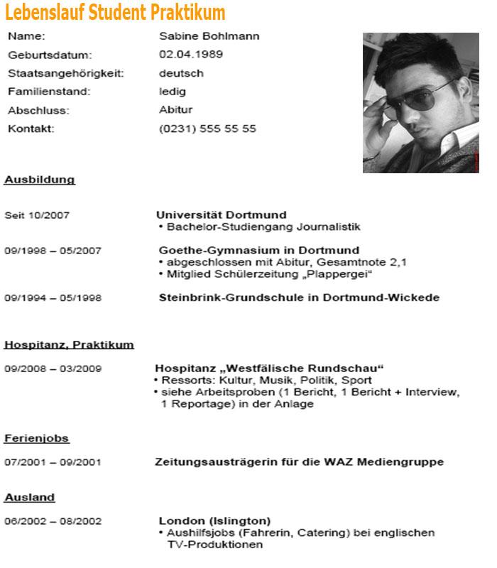 Schön College Engineering Praktikum Lebenslauf Zeitgenössisch ...