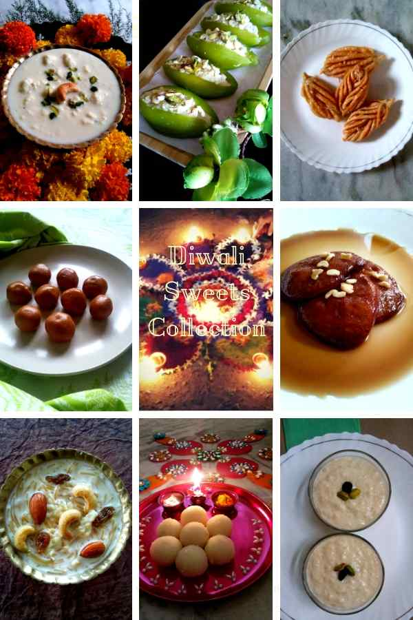 Diwali sweets collection recipes