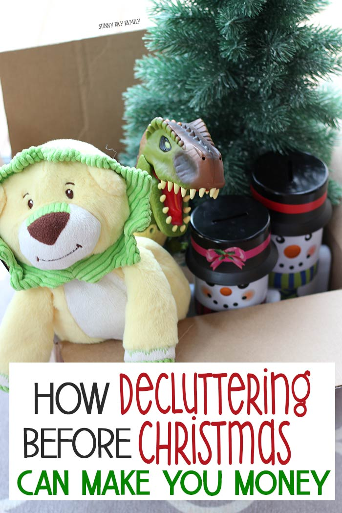 Declutter your house and make money while you do it! Decluttering before Christmas is a no brainer, and when you use Facebook Marketplace it's super easy. Get all my best declutter tips, what to sell, and how to make it simple. #FacebookMarketplace #ad #christmas #declutter #organized