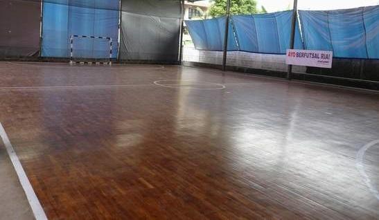 Jenis Lapangan Futsal Parquette