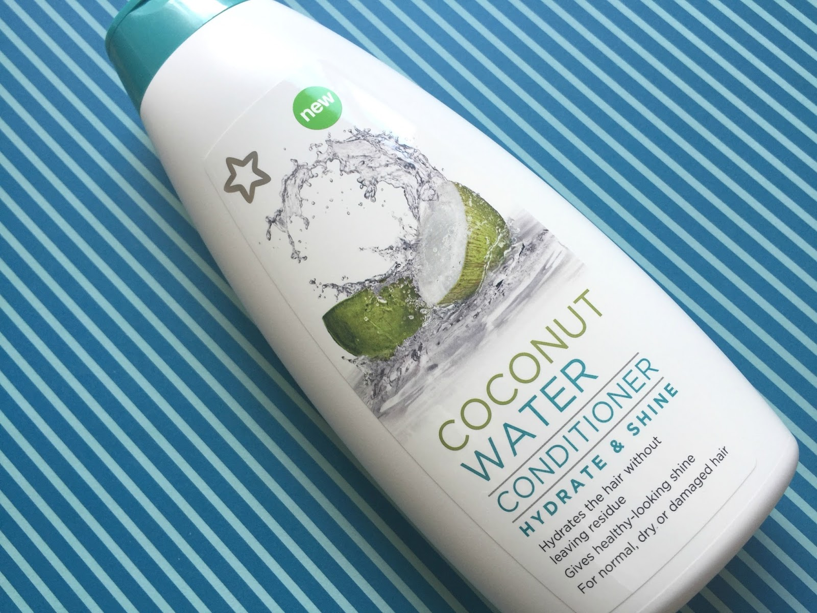 Superdrug Hydrate & Shine Conditioner with Coconut Water