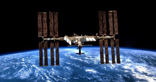 UFO Sighting by International Space Station