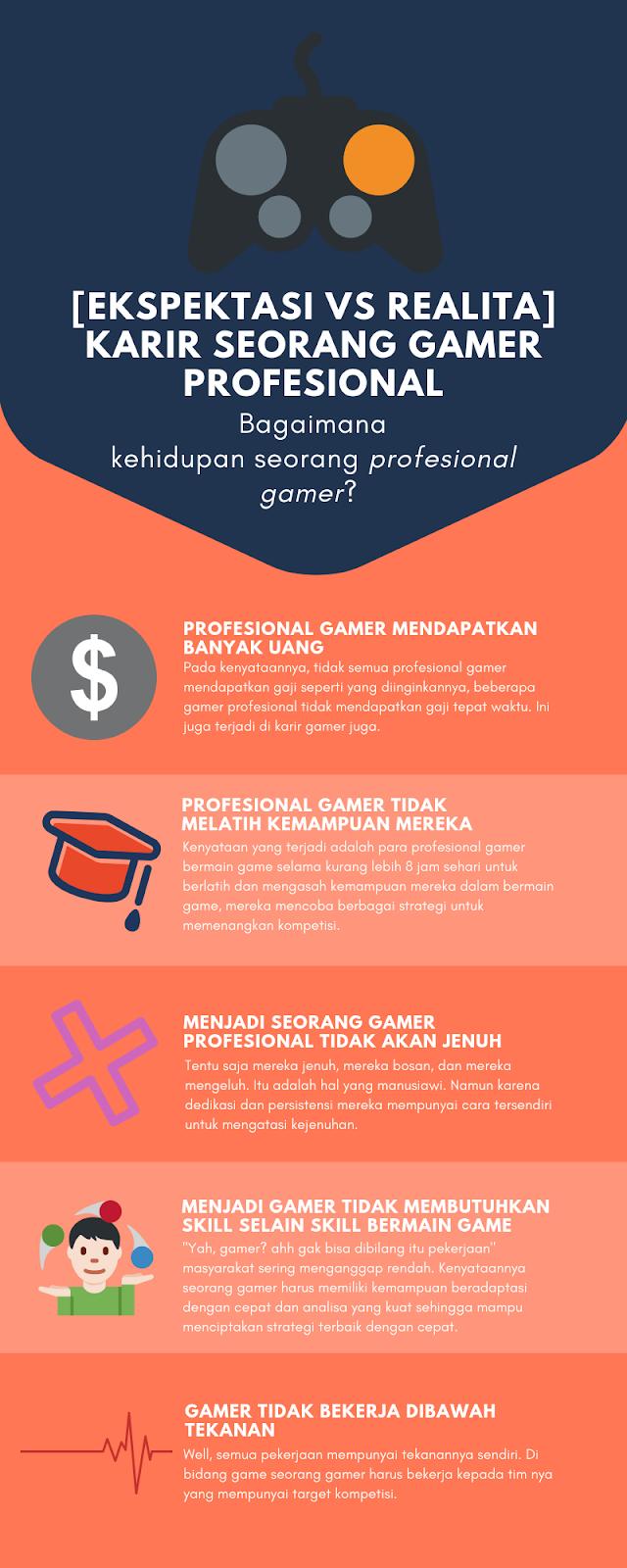 Realita VS Ekspektasi Seorang Gamer