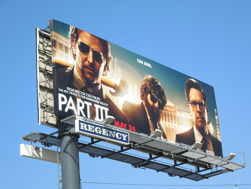 Hangover 3 billboard