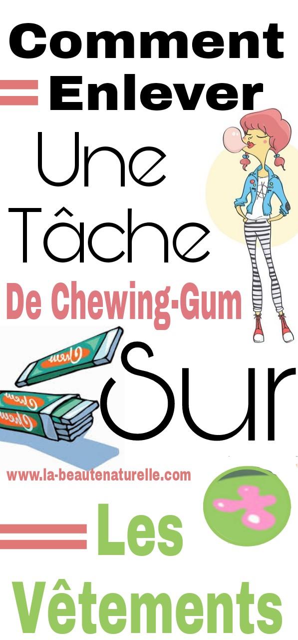 Comment enlever une t che de chewing gum sur les v tements - Enlever tache de peinture seche sur vetement ...