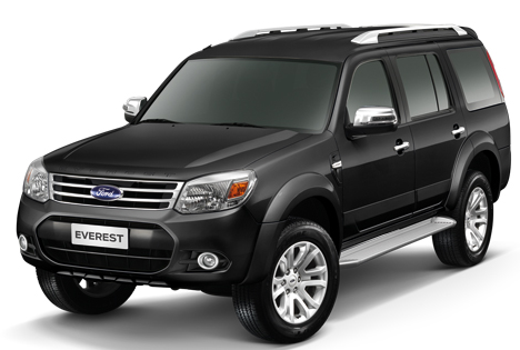 Ford Everest XLT 2.5L TDCi 4x2 MT
