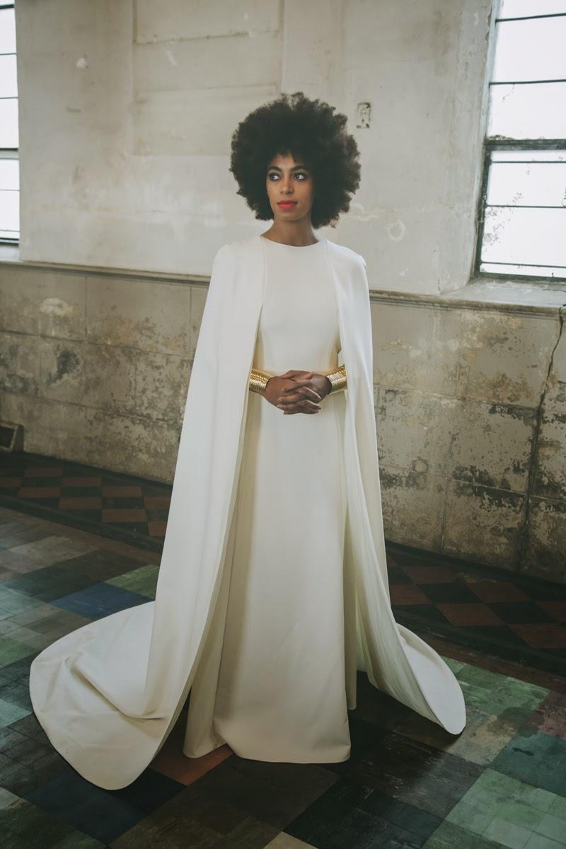 El estilismo de la boda de Solange Knowles