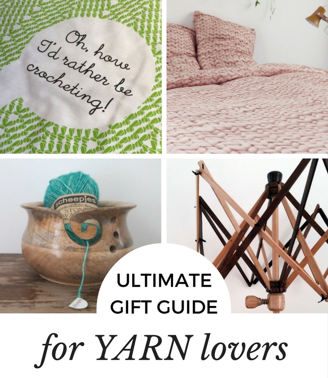 Ultimate gift guide for yarn lovers | Happy in Red
