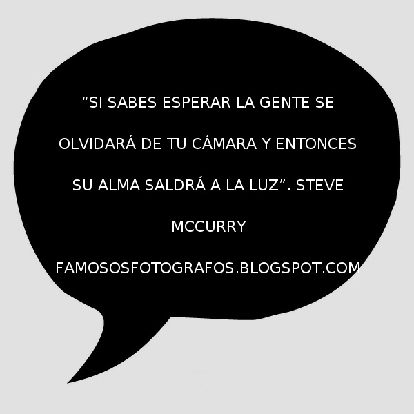 Frases De Fotógrafos Famosos Steve Mccurry La