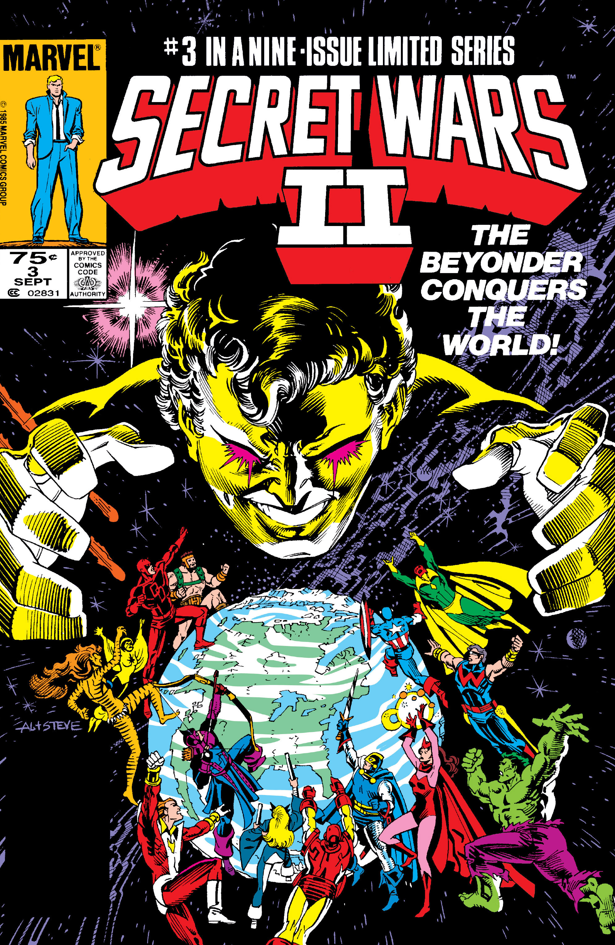 Read online Secret Wars II comic -  Issue #3 - 1