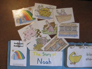 Fumbling Through Homeschooling: Rainbow Lapbook - Making It