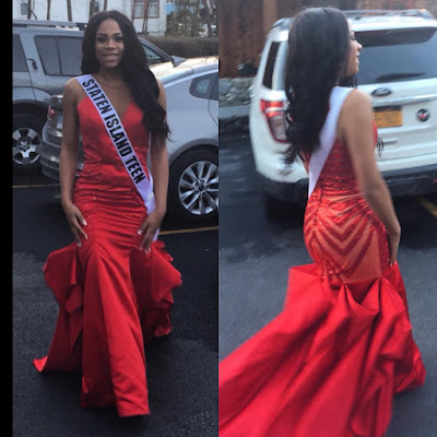 Regina Askia's daughter Teesa Williams contests for Miss New York Teen 2017 (photos)
