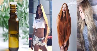 óleo rapunzel para crescer cabelo caseiro