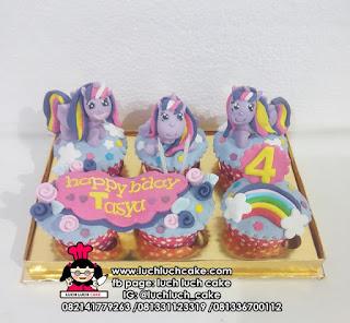 Cupcake Fondant 3d My Little Pony