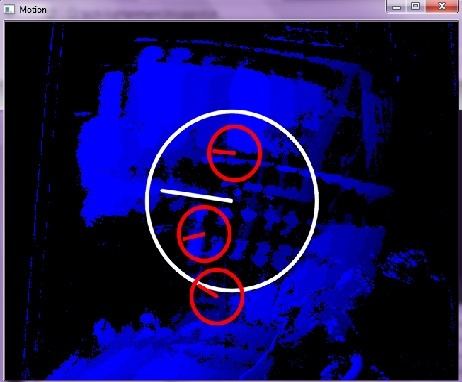 OpenCV: Implementing Motion Detection using Motion Templates