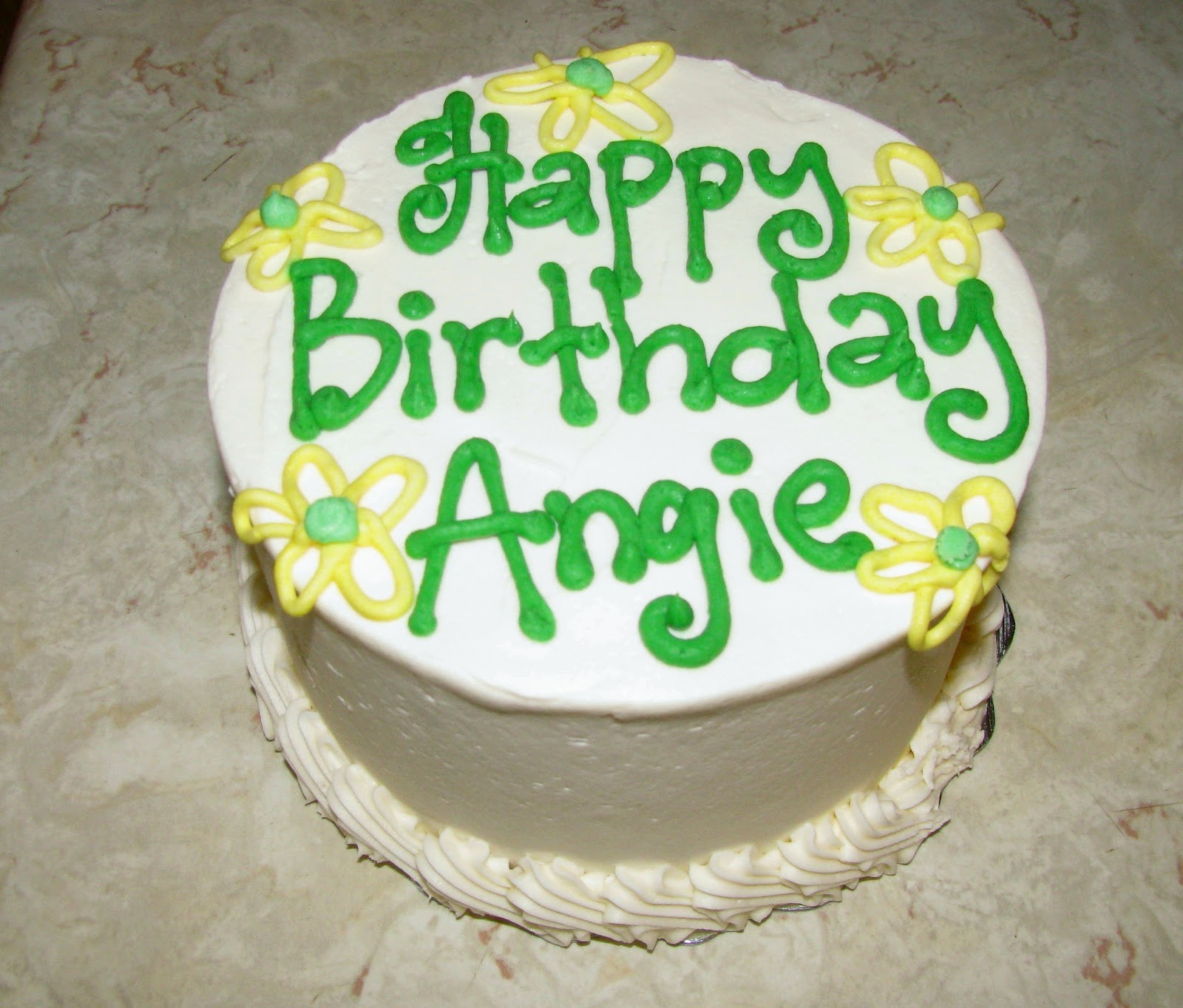 Angie In To Birthday Picture Blog