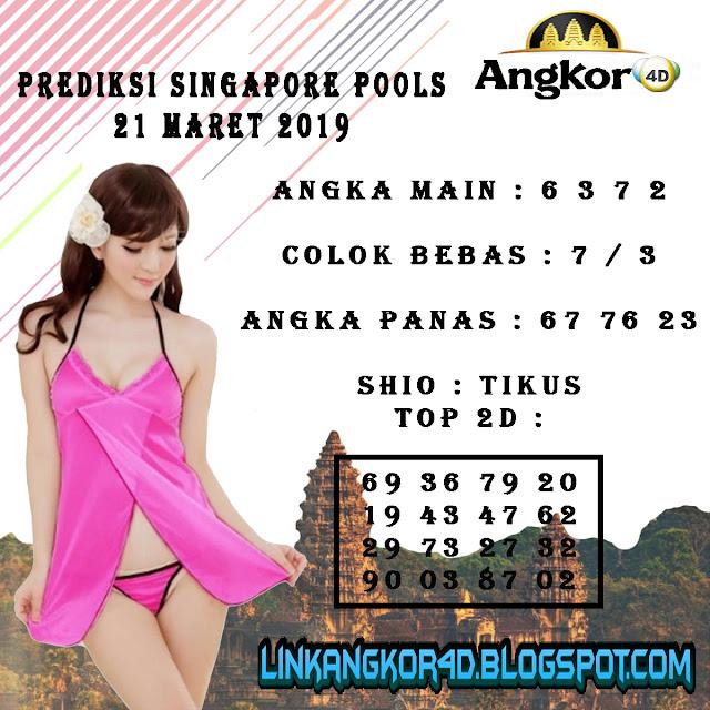 PREDIKSI SINGAPORE POOLS 21 MARET 2019