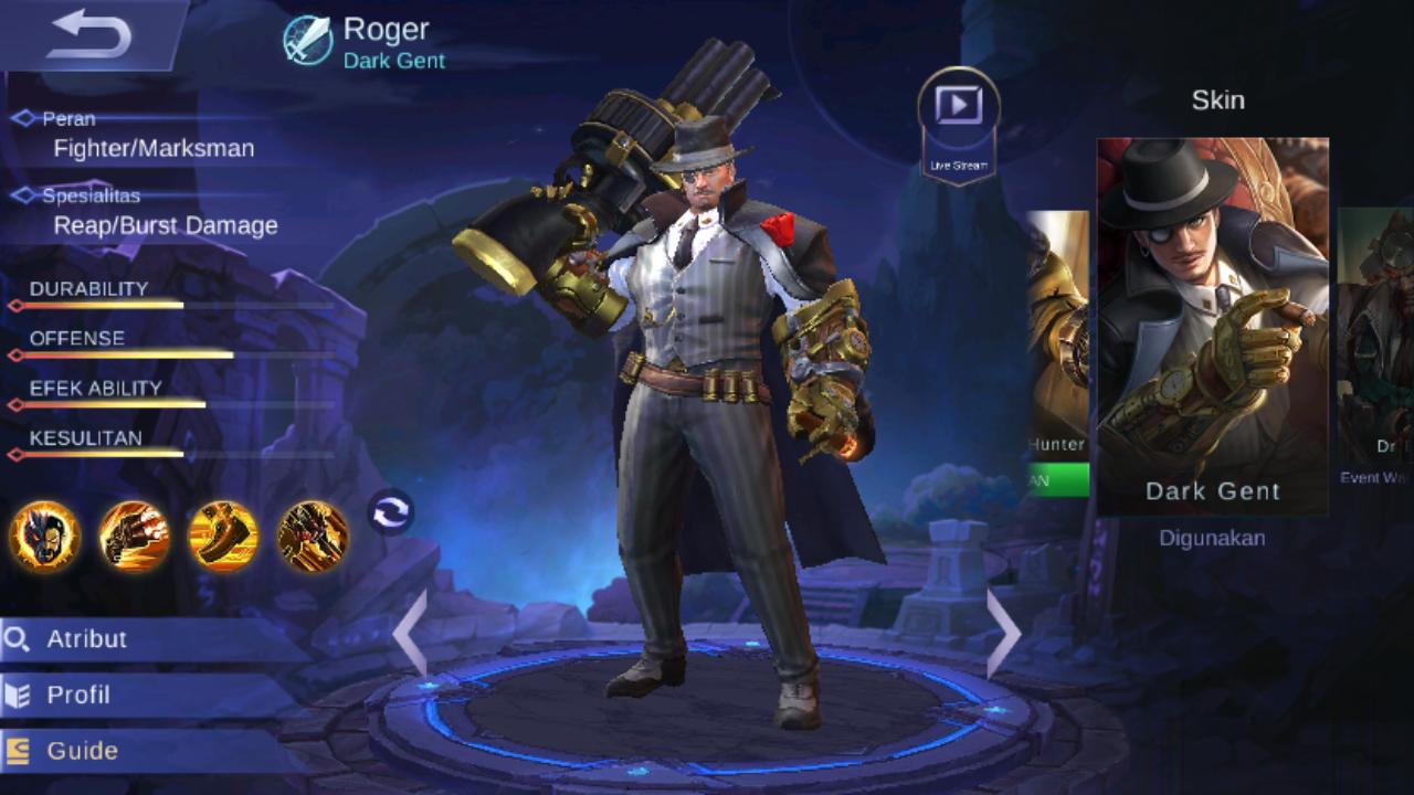 Roger Manusia Serigala Pemburu