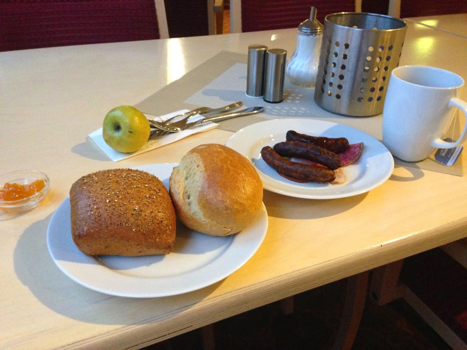 Germany-breakfast ドイツの朝食