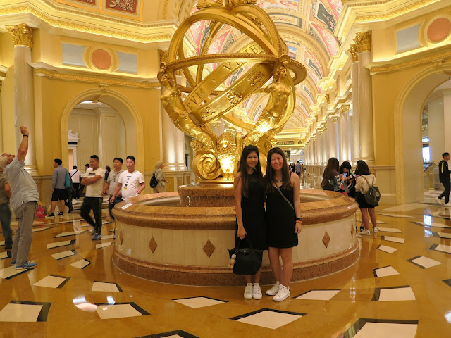 Macau ; Venetian Hotel ; Welfie