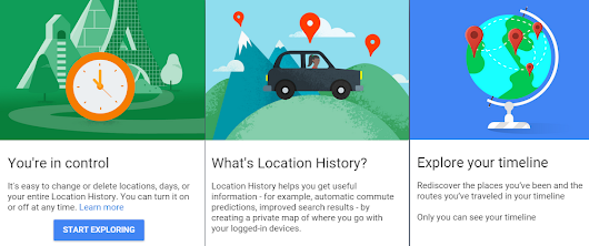 Google Maps Timeline Shows Your Location History in a Timeline - Blogger Known