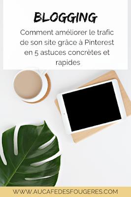 5 conseils pour augmenter le trafic de votre site ou blog grâce à Pinterest