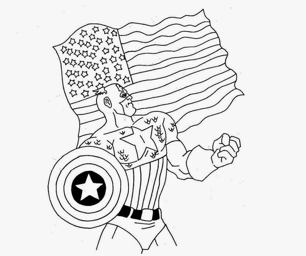 Desenhos Para Colorir E Imprimir: Desenhos Do Capitão