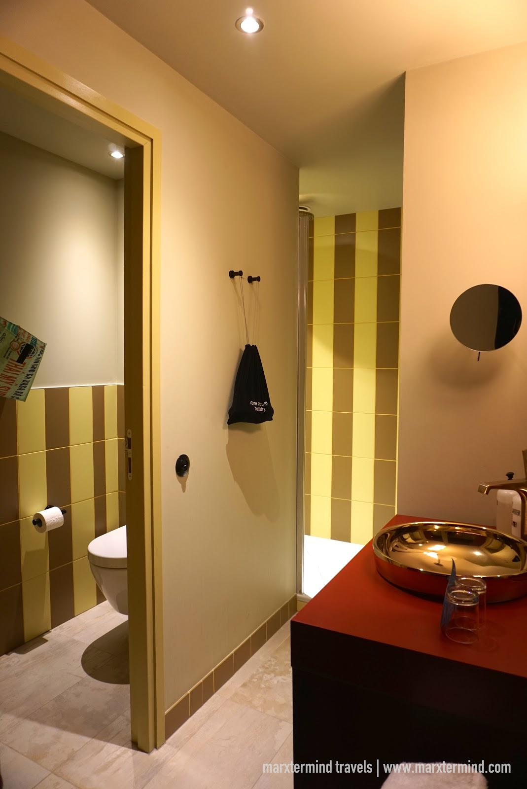 Toilet and Bath at Large Plus room