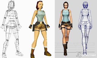 Lara Croft do Jogo Tomb Raider