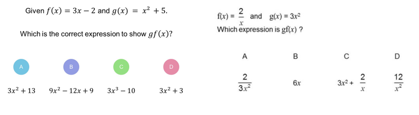 Resourceaholic New GCSE Functions – Composition of Functions Worksheet