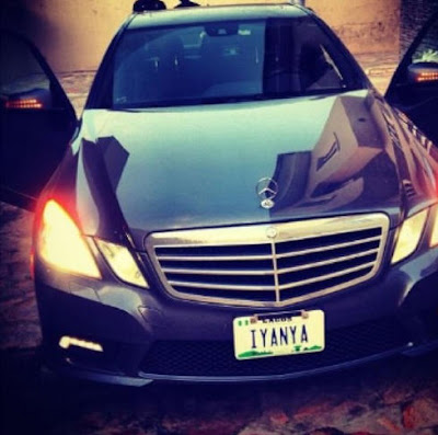 iyanya+ride EXCLUSIVE PHOTOS OF ALL NIGERIAN CELEBRITIES WHO ACQUIRED NEW CARS IN 2013