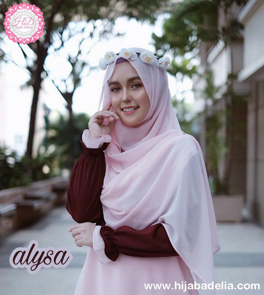 Dress Muslimah Alysa Maron
