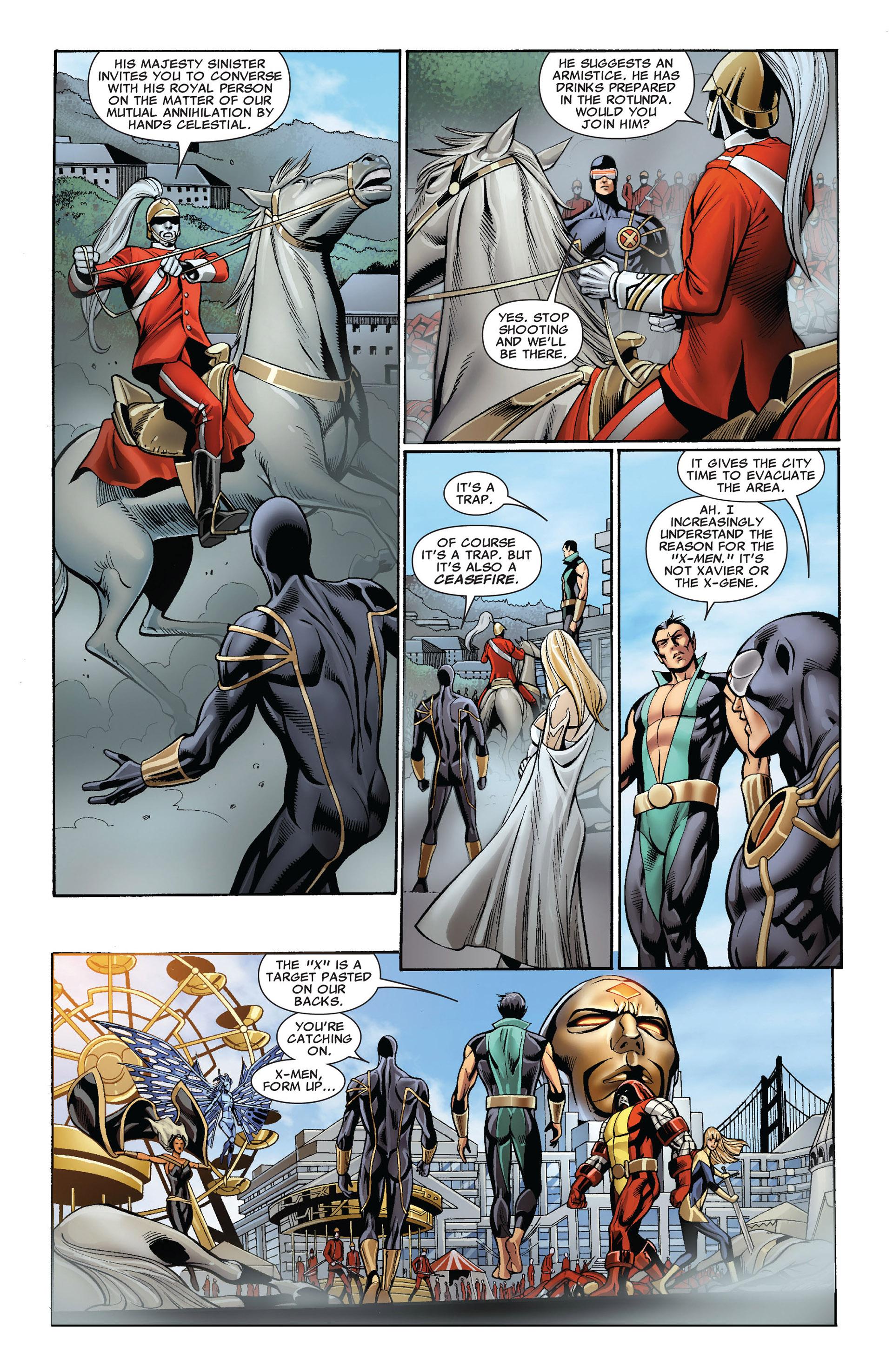 Read online Uncanny X-Men (2012) comic -  Issue #2 - 7