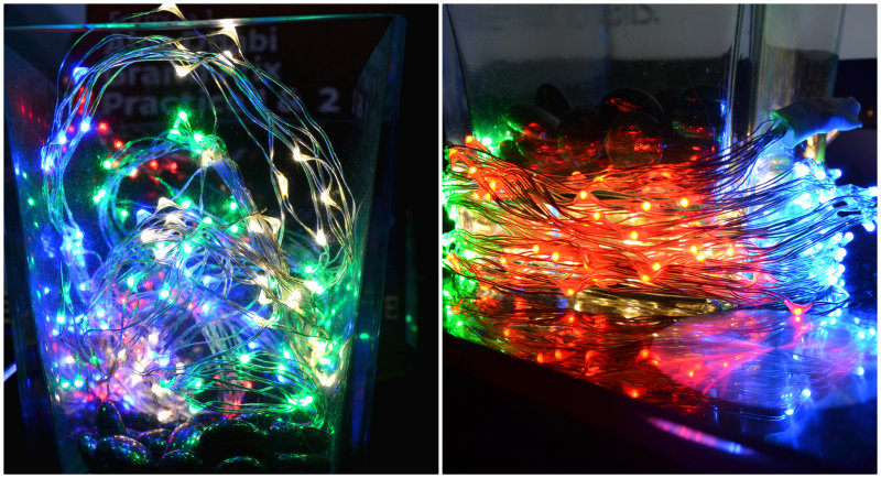 Christmas lights from Ledhut.co.uk review @ ups and downs, smiles and frowns.