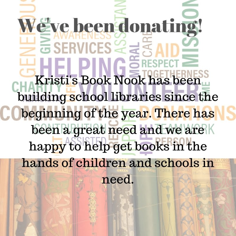 We've Been Donating Books