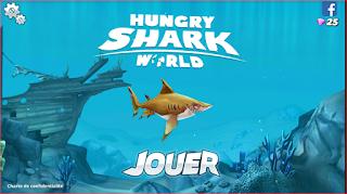 تحميل لعبة Hungry Shark المدفوعة لهواتف الاندرويد APK