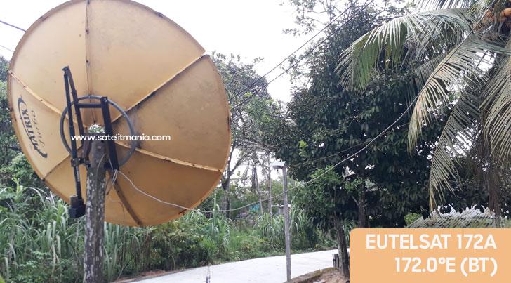 Cara Mencari Channel PLTV di satelit Eutelsat 172A