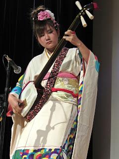 Kirakuza, tsugaru shamisen en México