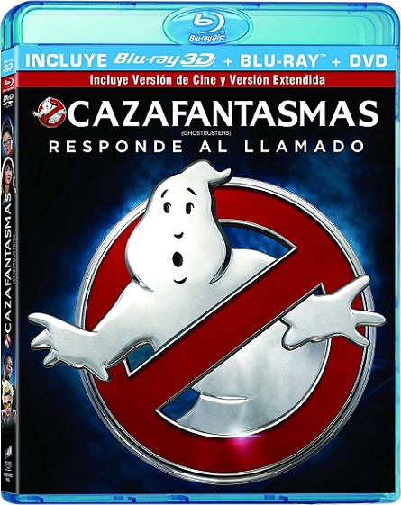 Ghostbusters 3D (Cazafantasmas 3D) (2016) m1080p BDRip 3D Half-OU 15GB mkv Dual Audio DTS-HD 5.1 ch