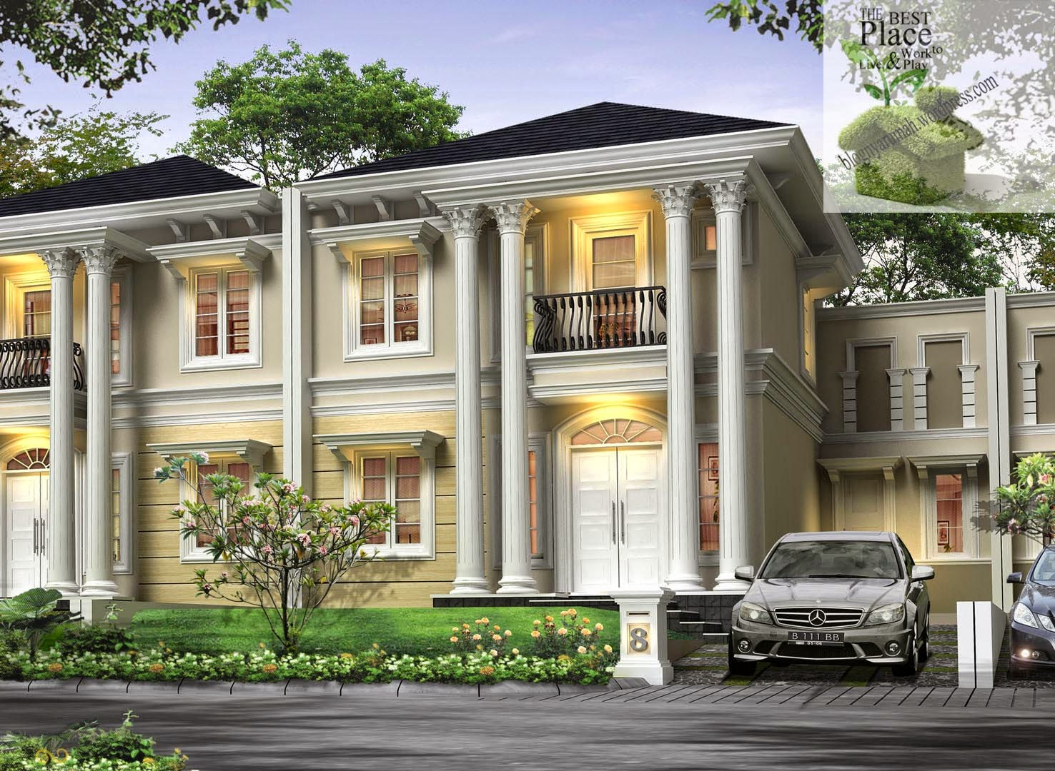 Contoh Rumah Classic Modern