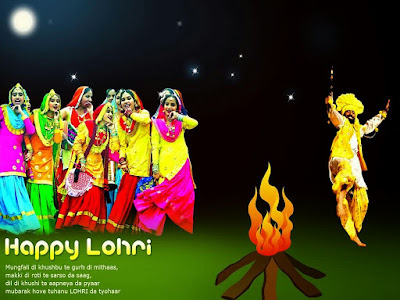 Happy Lohri HD Wallpapers for Free Download